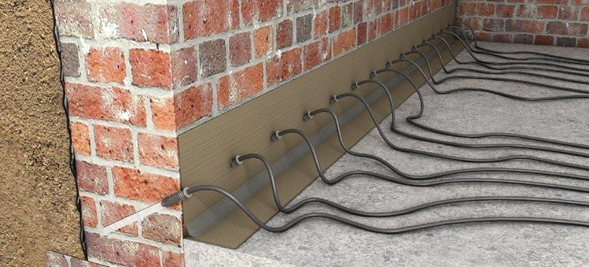 Инъекционный метод гидроизоляции