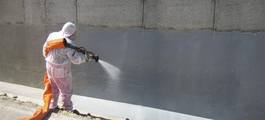 Жидкая резина для напыляемой гидроизоляции