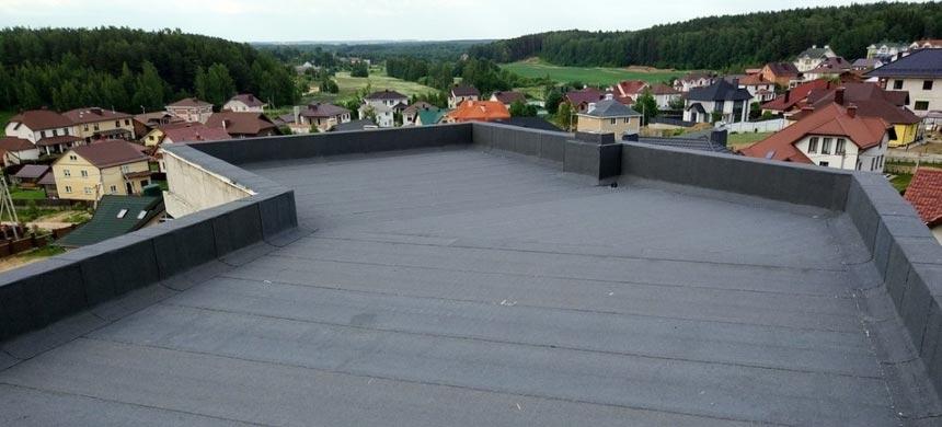 Покрытие эксплуатируемой крыши