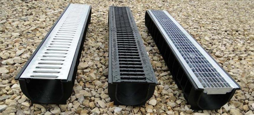 Ливневая канализация-лотки и решетки