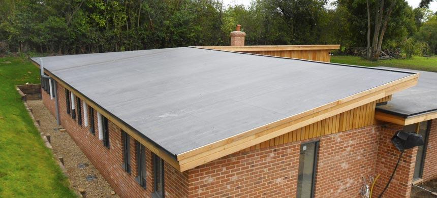Плоская неэксплуатируемая крыша