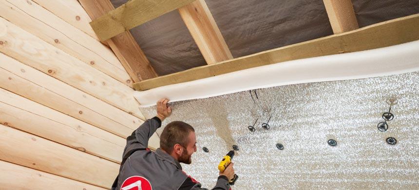 Утеплить крышу дома вспененным полиэтиленом
