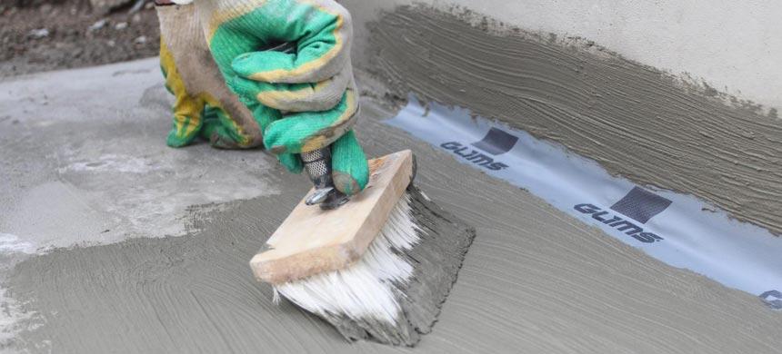 Цементные смеси для гидроизоляции швов