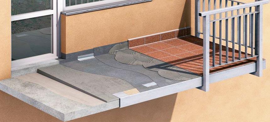 Гидроизоляция балкона-материалы