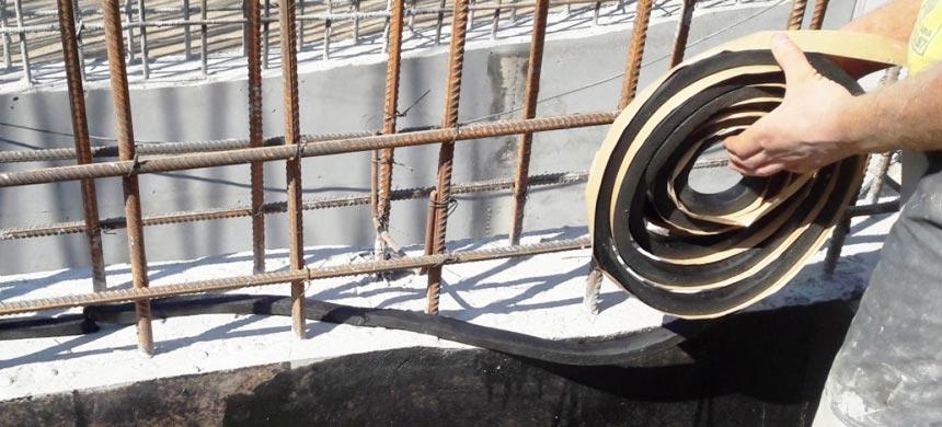 Гидропрокладки для гидроизоляции швов