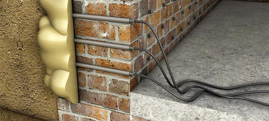 Инъекционная отсечная гидроизоляция