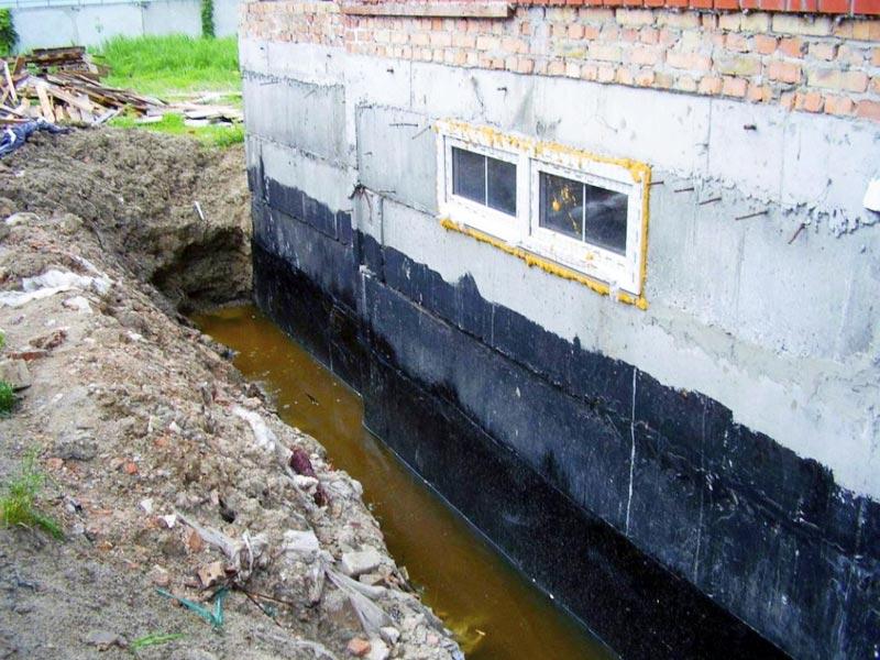 Гидроизоляцию подвала от грунтовых вод